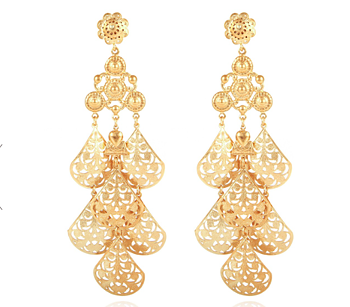Oferia Earrings gold