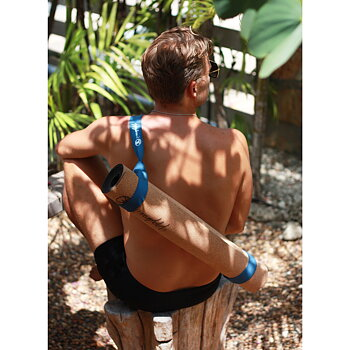 Adjustable Carry Strap and Stretch Assist Band | Sky Blue