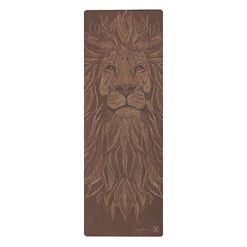 Cork yoga mat: Be The Lion