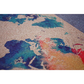 Cork yoga mat / Travelmat : Mother