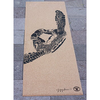 Cork yoga mat / Travelmat : The Traveler
