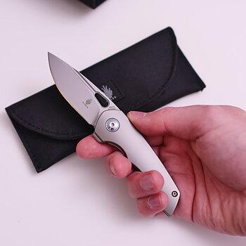 Kizer Cutlery Microlith Titan 10/10 - OANVÄND