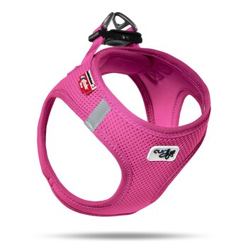 Curli Vest Harness Air Mesh, Fuschia
