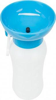 Trixie Flaska med Vattenskål 0.55l, flera färger