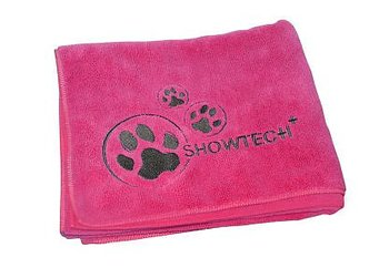 Show Tech Microfiber Handduk, Rosa