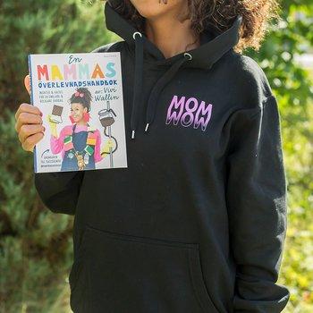 PAKET: En mammas överlevnadshandbok + Linne + Hoodie MOM-WOW