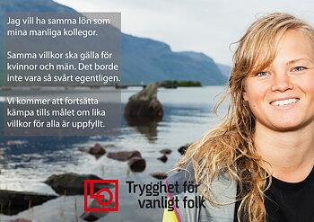 Flygblad Samma lön och villkor A5 2019