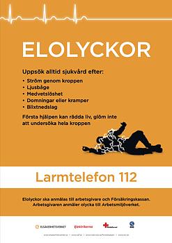 Elolyckor - Affisch A3