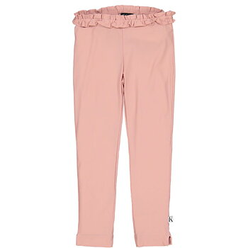 Ruffle UV Legging Rosa