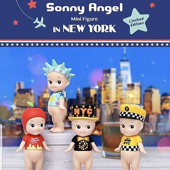 Sonny Angel New York 2019 - 1 KVAR