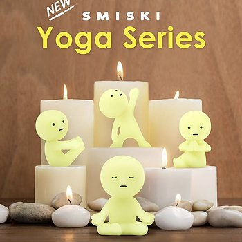 Smiski Yoga Serie
