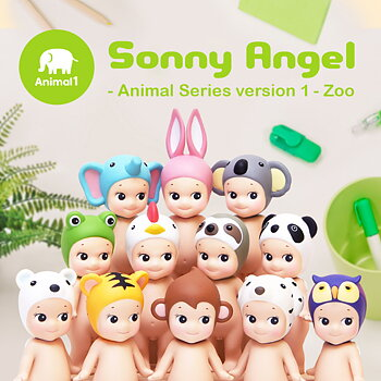Sonny Angel Djur Serie 1 Zoo