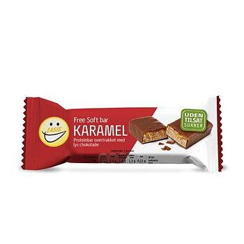 BAR SOFT KARAMELL LJUS CHOKLAD 240G EASIS - 8-pack