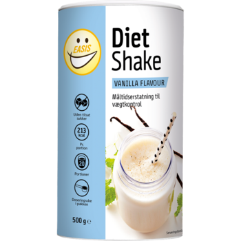 EASIS Diet Shake Vanilj 500 g, 20 portioner