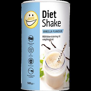 EASIS Diet Shake Vanilj 500 g, 20 portioner