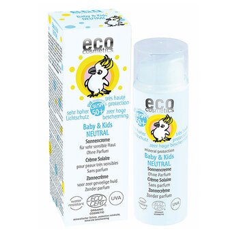 Baby solkräm 50+ NEUTRAL 50 ml EKO