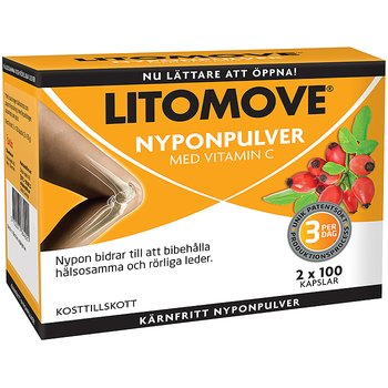 Litomove 100 kapslar x 2