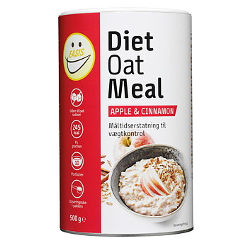 Diet Oat Meal - Havre - 3-stycken a 12 portioner - 480 g - Easis