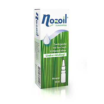 Nozoil Eukalyptus Nässpray 10ml