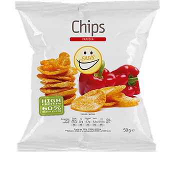 EASIS CHIPS PAPRIKA 50G