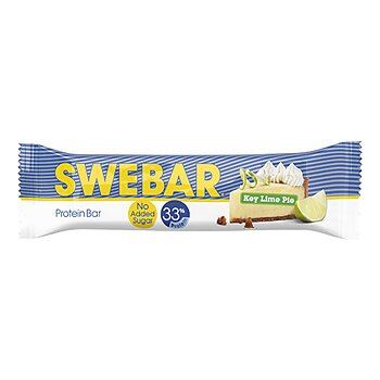 Swebar No Sugar Added Key Lime Pie 50g - Låda 15 St