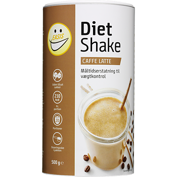 EASIS Diet Shake Caffe Latte - 500 g, 20 portioner