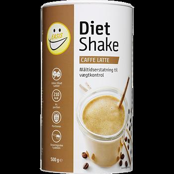 EASIS Diet Shake Caffe Latte - 500 g, 20 portioner