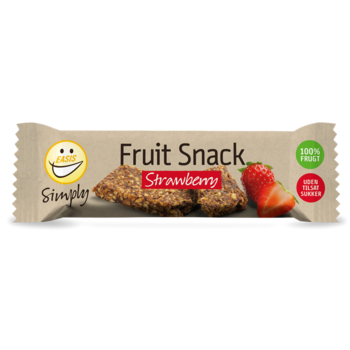 Simply Fruit Snack strawberry, 30g - Eeasis