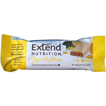 CITRONPAKET Extend Bar Yoghurt Citron 15 st + Druvsocker Citron  10 st