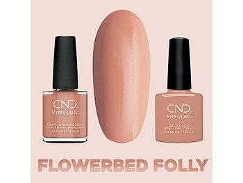 Flowerbed Folly #346, Vinylux CND