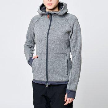 Limited Womens Eskimo Hoodie - Grey