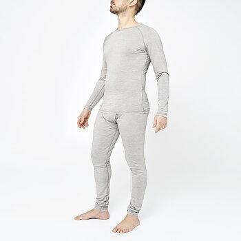 Mens SuperBase Merino Sweater - Salmiak