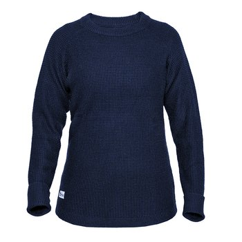Womens Rambler Wool Sweater - Bilberry
