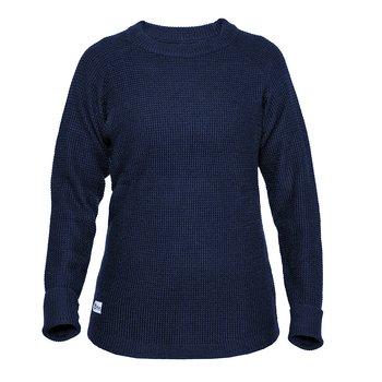 Womens Rambler Wool Sweater - Bilberry