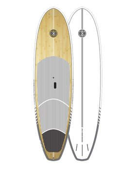 Ocean & Earth Cruiser Epoxy/Bamboo SUP 9.6""