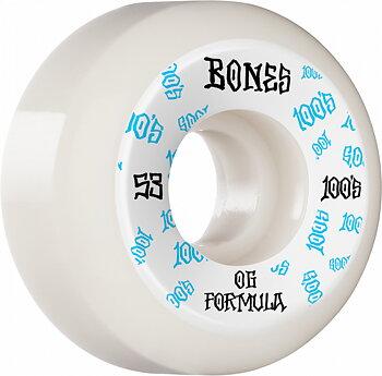 Bones Wheels 100´s OG V5 Sidecuts 53mm