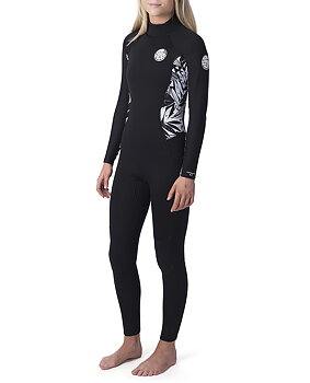 Rip Curl Womens Dawn Patrol 4/3mm Back Zip