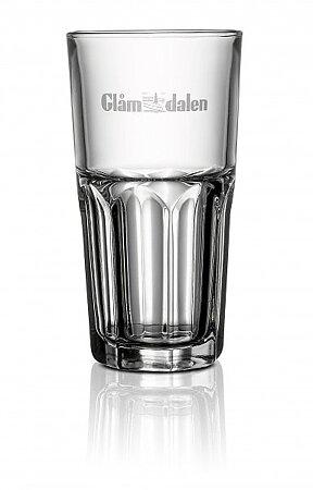 Glas med tryck av egen logo - FÖRETAG