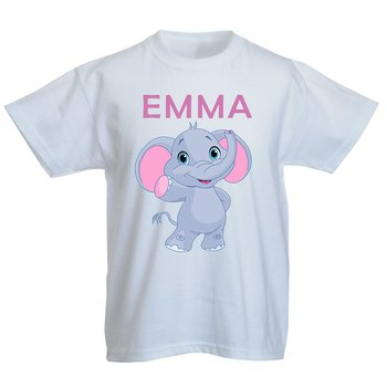Elefantunge med namn no.1 Egen design - T-Shirt