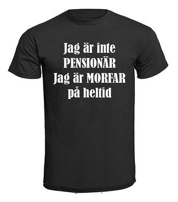 T-shirt - Jag är inte pensionär, Morfar