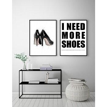 Black High Heels - Poster