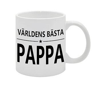 VÄRLDENS BÄSTA PAPPA NO.4 MUGG