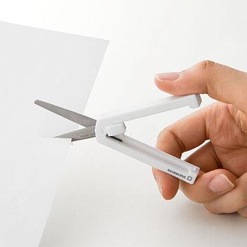 Scissors MIDORI COMPACT XS, white