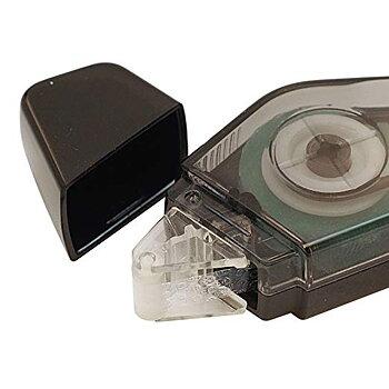 Glue tape MIDORI XS, black, 5mm x 8m