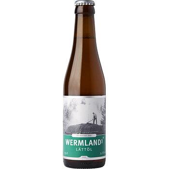 Wermlands Brygghus lättöl 2,2% vol, 33 cl x 20