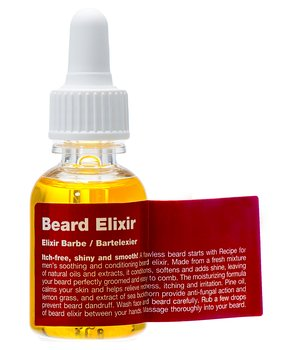 Beard Elixir [Recipe for men]