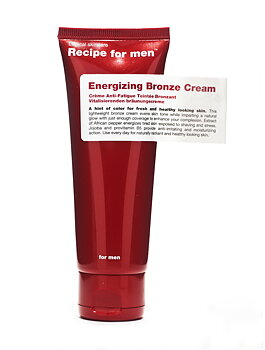 Energizing Bronze Cream [Recipe for men]
