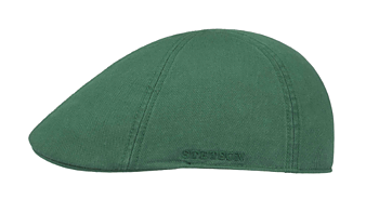Texas Sun Protection Flat Cap - Green [Stetson]