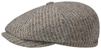 Hatteras Herringbone Flat Cap [Stetson]