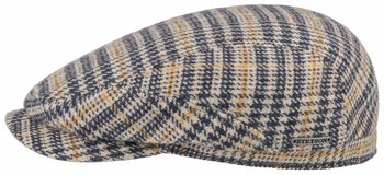 Wool Flat Cap Check [Stetson]